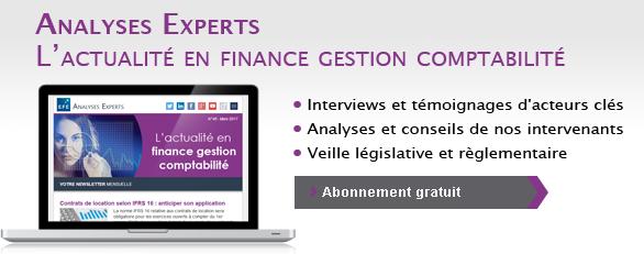 EFE Newsletter l'actualité en finance gestion comptabilité